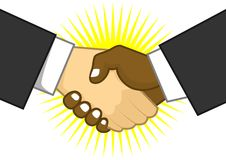 Shake hand Stock Photography