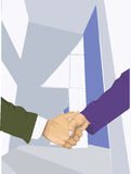 Shake hand Royalty Free Stock Photography