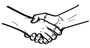 Shake hand Royalty Free Stock Photos