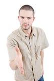 Shake the hand Stock Image