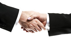 Shake hands Stock Photography