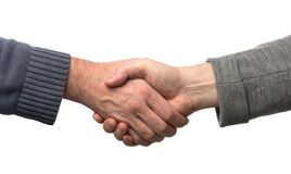 Shake hands Royalty Free Stock Photos