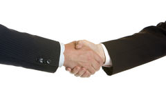 Shake hands of businessmen Royalty Free Stock Photography