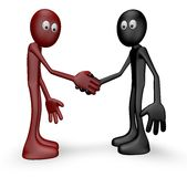 Shake hands Stock Image