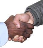 Shake hands Stock Photos