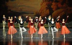 Shake handshandle dance-ballet Swan Lake Stock Photos