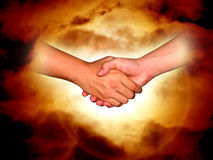 shake ręce Fotografia Stock