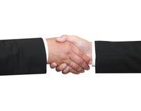 Shakehand d'homme des affaires deux Image libre de droits