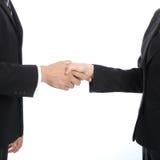 Shakehand dell'uomo d'affari per la buona relazione Immagini Stock