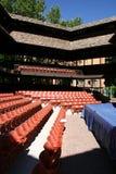 shakepearean θέατρο Adams Στοκ φωτογραφία με δικαίωμα ελεύθερης χρήσης
