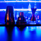 Shaker on the bar Royalty Free Stock Photography