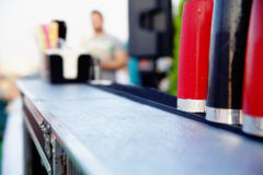 Shaker on the bar royalty free stock image