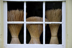 Shaker Brooms Royalty Free Stock Image
