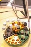 Shaker för plattform för labbskala Arkivfoton