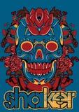 Shaker skull Royalty Free Stock Photography