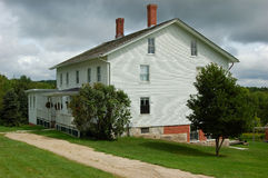 Shaker village house Royalty Free Stock Image