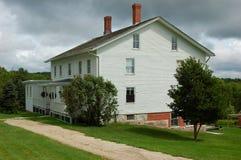 Shaker village house Royalty Free Stock Image
