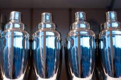 Shakers in een rij Royalty-vrije Stock Afbeeldingen