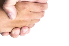 Shakes hands Royalty Free Stock Images