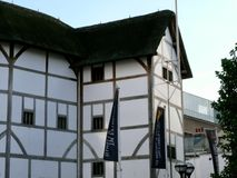Shakespeare's Globe, Southbank. Reconstructed theatre of Shakespeare's Old Globe, Southbank Stock Photos
