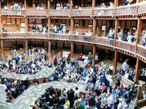 Shakespeare's Globe, Southbank royalty free stock photos