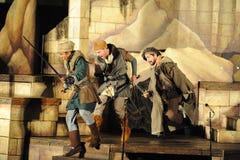 Shakespeare θαλασσίως σε Soka πανεπιστημιακές ΗΠΑ στις 10 Αυγούστου 2016 Στοκ Εικόνες