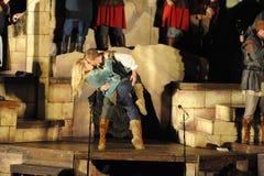 Shakespeare θαλασσίως σε Soka πανεπιστημιακές ΗΠΑ στις 10 Αυγούστου 2016 Στοκ φωτογραφία με δικαίωμα ελεύθερης χρήσης