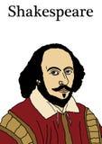 Shakespeare 2 ilustración del vector