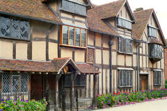 Shakespeare Birthplace house. At Stratford-upon-Avon, England, Great Britain Stock Photo
