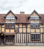 Shakespeare birthplace in Stratford Stock Images
