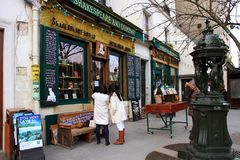 Bookstore of Shakespeare and Company in Paris. Stock Images