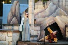 Shakespeare door het Overzees in Soka de Universitaire V.S. 10 Augustus 2016 Royalty-vrije Stock Afbeeldingen