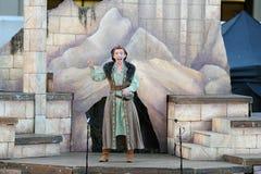 Shakespeare durch das Meer an Soka-Universität USA am 10. August 2016 Lizenzfreie Stockfotos