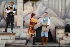 Shakespeare durch das Meer an Soka-Universität USA am 10. August 2016 Lizenzfreies Stockbild