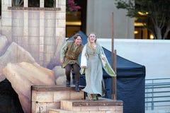 Shakespeare durch das Meer an Soka-Universität USA am 10. August 2016 Lizenzfreie Stockfotografie