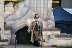 Shakespeare durch das Meer an Soka-Universität USA am 10. August 2016 Stockfotos