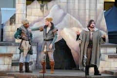 Shakespeare durch das Meer an Soka-Universität USA am 10. August 2016 Lizenzfreies Stockfoto