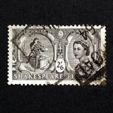 Shakespeare Festival Stamp Stock Photography