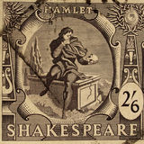 Shakespeare Festival Stamp vector illustration