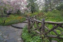 Shakespeare-Gärten Lizenzfreie Stockfotos