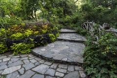 Shakespeare Garden Central Park, New York City Stock Photo