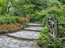 Shakespeare Garden Central Park, New York City Royalty Free Stock Photography