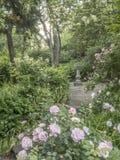 Shakespeare Garden Central Park, New York City Stock Photos