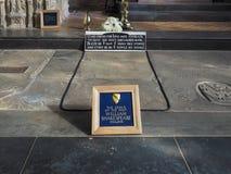 Shakespeare grav i Stratford på Avon Royaltyfri Bild