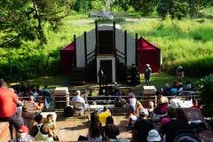 Shakespeare in het Park: De Vrolijke Vrouwen van Windsor 8 Royalty-vrije Stock Afbeeldingen