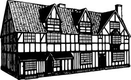 Shakespeare house Royalty Free Stock Photo