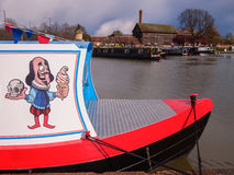 Shakespeare Ice Cream Boat Stock Photo