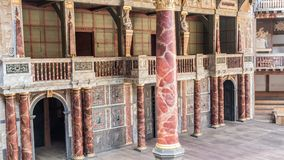 Shakespeare-Kugeltheater in London Großbritannien Lizenzfreies Stockbild