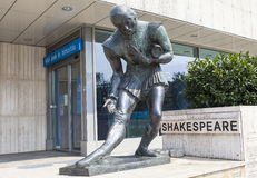 Shakespeare Monument in Budapest Stock Image
