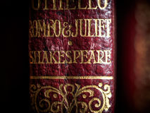 Shakespeare play. Romeo and Juliet play by Shakespeare Stock Image